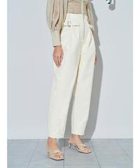 GHOSPELL / Drift Faux Leather Midi Dress