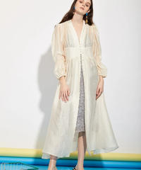 GHOSPELL / DEPARTMENT SHEER MAXI DRESS