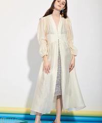 GHOSPELL / DEPARTMENT SHEER MAXI DRESS