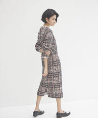 COOHEM / VINTAGE CHECK TWEED ONE-PIECE