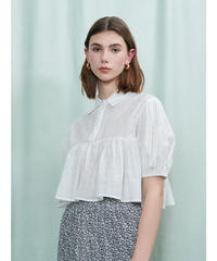GHOSPELL / Forest Trail Cropped Shirt