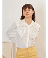 GHOSPELL / Archive Lace Collar Shirt