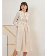 GHOSPELL / Canvas Lace Midi Dress