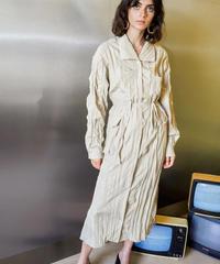 GHOSPELL / Adapt Crinkle Retro Midi Dress