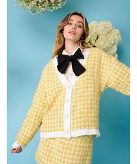 sister jane / Honey Bee Tweed Cardigan