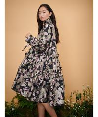 sister jane / DREAM Heathland Jacquard Midi Dress