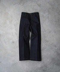 【5.8[sat]20:00‐PRE‐ORDER】DENIM STRAIGHT TROUSERS  (INDIGO RIGID)