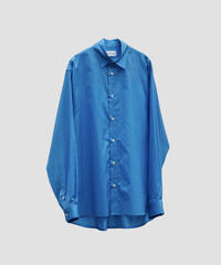 STYLING LONG SLIT SHIRT NEW(BLUE)
