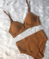cotton caramel bralette high set up
