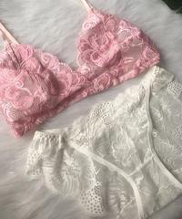 pink × white