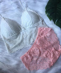 パッド付きwhite × pink