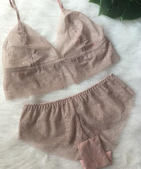 pink beige set  up