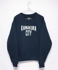 KAMAKURA CITY スウェット<NAVY>