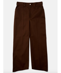 DIGAWEL WORK SLACKS(BROWN)