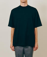 DIGAWEL  MOCK NECK T-SHIRT【BLACK】