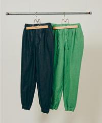DIGAWEL  GARMENT DYE EASY PANTS【GREEN】
