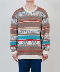 DIGAWEL  Jacquard Sweater
