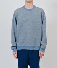 DIGAWEL  Hexagonal Patterns Sweatshirt【SAX】