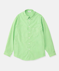 DIGAWEL  STRIPE SHIRT(GREEN)
