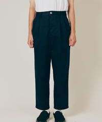 DIGAWEL  2TUCK TAPERED PANTS(COTTON)【NAVY】