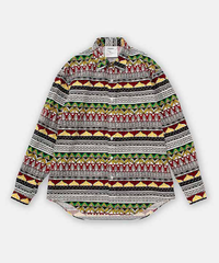 DIGAWEL  TRIBAL PATTERN SHIRT
