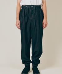 DIGAWEL  GARMENT DYE EASY PANTS【BLACK】