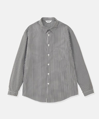 DIGAWEL  STRIPE SHIRT(BLACK)