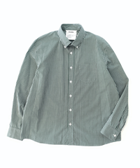 DIGAWEL  GINGHAM SHIRT(GREEN)
