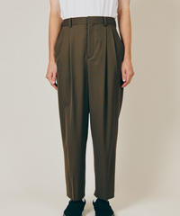DIGAWEL  2TUCK TAPERED PANTS【OLIVE】