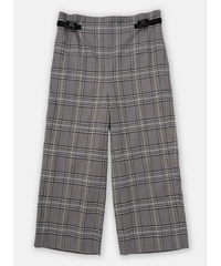 DIGAWEL  SIDE ADJUST PANTS ② (Glen Check)