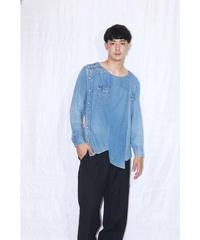 No.R-W-004 Slit Western Shirt