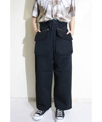 No.S-002 pouch baker pants