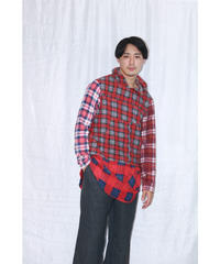No.W-006  switching pullover shirt