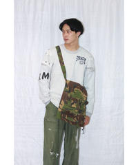 No.R-W-028  frill military bag(small)