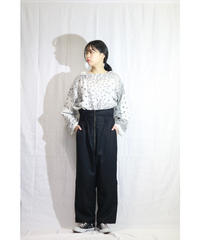 No.W-145 WEP high waist pants (wol gabardine)