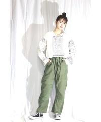 No.R-W-001 remake patchwork pants