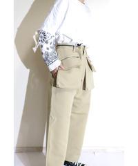 No.S-002  pouch baker pants