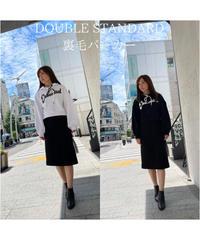 【秋物新作】DOUBLE STANDARD/裏毛パーカー