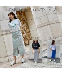 【Mylanka】ロゴプリントTシャツ