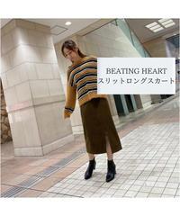 BEATING HEART/スリットロングスカート