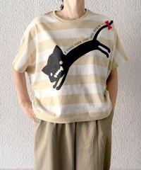 ワイドボーダードルマンTシャツ(RF251005-42)