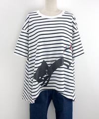 テントラインボーダーTシャツ(RF255005-01)