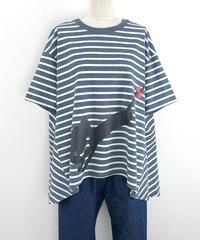 テントラインボーダーTシャツ(RF255005-22)