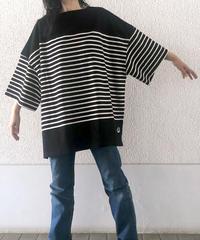 スーパーBIGボーダーTシャツ(AF238005-09)