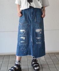 リメイクデニムスカート(AG032004-32)
