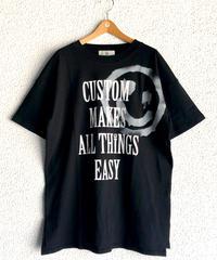 デッドスマイルスリットTシャツ(AF274002-09)