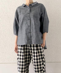 ランタンスリーブシャツ(RE076005-32)