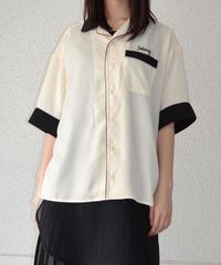 バイカラーパイピングシャツ(AE046003-92)