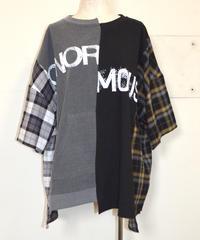 リメイクライクワイドTシャツ(AF254003-08)