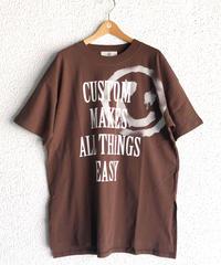 デッドスマイルスリットTシャツ(AF274002-50)
